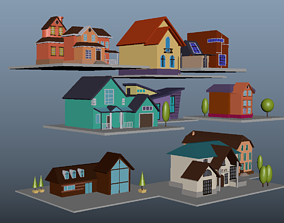 9 Special Homes for gaming 3D printable model art