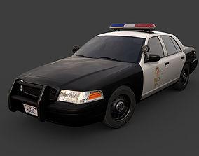 Los Angeles Police Car 3D model