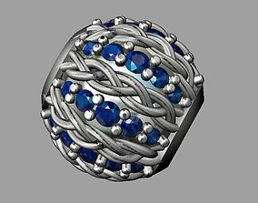 Diamond Bead 3D print model jewelry