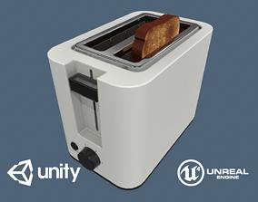 Toaster 3D asset