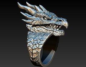 3D printable model Dragon ring DROGON