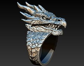 3D printable model Dragon ring DROGON
