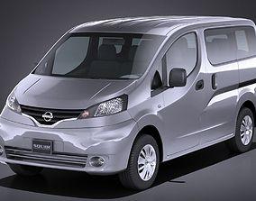 3D model Nissan NV200 2010-2018