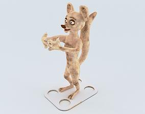 3D print model Possum Toothbrush Holder