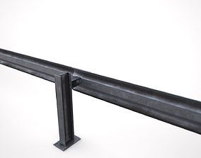 exterior 3D model Guardrail