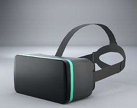 3D Simple VR Headset Free Model