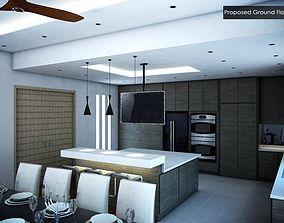 3D Setia Eco Park Dry Kitchen