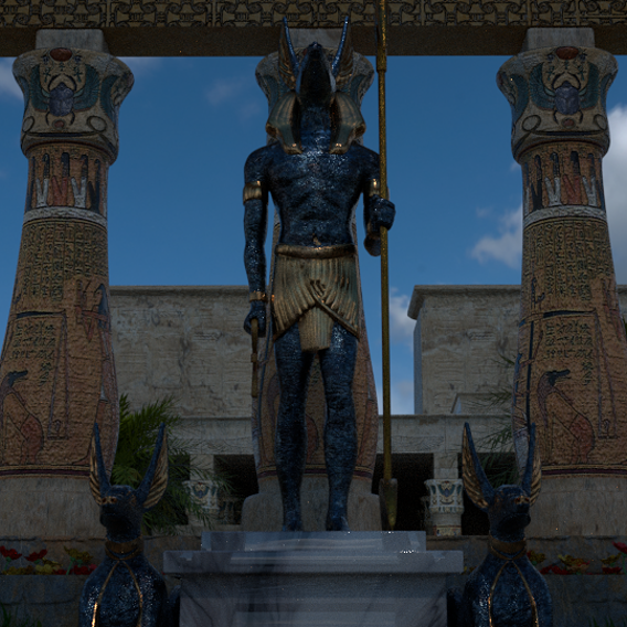 Shrine To Anubis