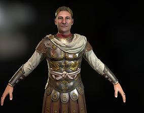 3D asset Rome aristocrat Caesar