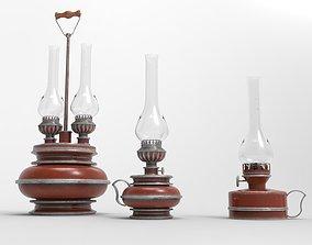 Kerosene lamps 3D