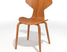 Jacobsen Grand Prix chair 3D