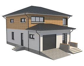 Cottage House 1 3D asset