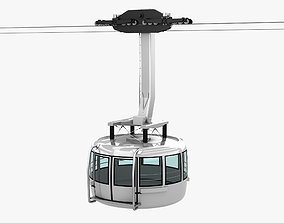 Cableway Car 3D model