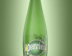 plastic Bottle Perrier 1L 3D