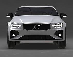 Volvo S60 2019 No Interior 3D