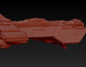 3D printable model Heavy cruiser
