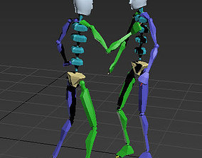 3D model dance 3