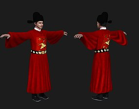 3D model Ancient Chinese officials Ming Dynasty Ancient
