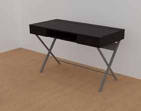 3D model rigged Modern Desk
