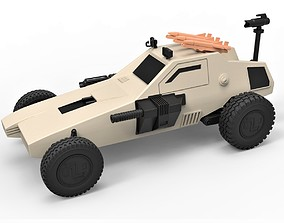 Diecast model Dune buggy from movie Megaforce 1982 3