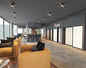 Showroom Office Bar Interior 3D Model shop