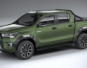 3D Toyota Hilux Invincible 2021