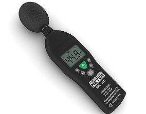 3D model Sound level meter