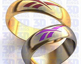 3D print model Gold Metal Rings sport-ring