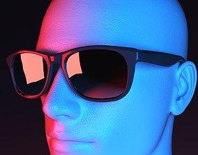Sporty Risky Sunglasses 3D model