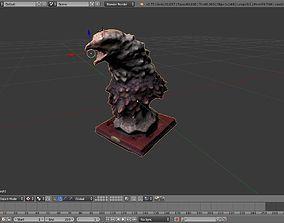 3D model Eagle Adornment Blender