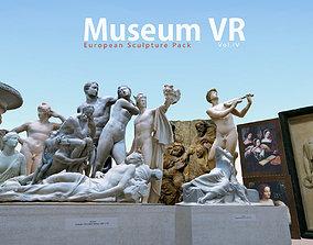 Museum pack - European Sculpture 3D asset