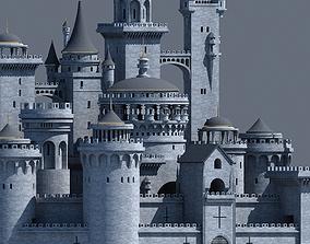 Fantasy Castle 003 3D