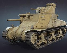 3D model M3 Lee Tank