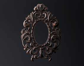 Carved Mirror Substance Painter 3D model