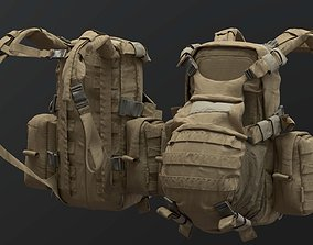 3D model SOLDIER Backpack Tactical Cargo
