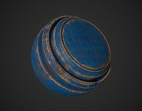 Painted Wood SmartMaterial 3D model