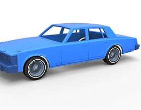 3D print model Diecast shell Cadillac Seville 1979 4 4