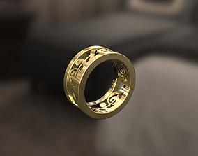 Sol key Ring 3D print model