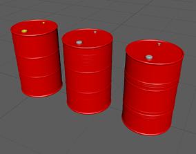 3D DrumCanA high-poly model