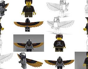 3D model Movie Characters Brick Minifigures 1