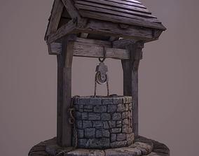 3D asset Medieval Well - PBR