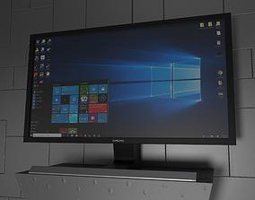 Samsung Monitor 3D asset