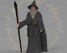Gandalf the Lord of the Rings Hobbit full color 3D 1