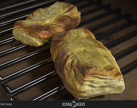game-ready Pastry 12 - Photogrammetry Asset 3D PhotoScan 2