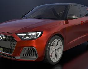 2019 Audi A1 Sportback 3D
