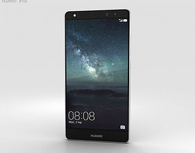 Huawei Mate S Titanium Grey 3D model amoled