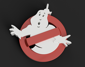 GhostBusters Necklace 3D print model