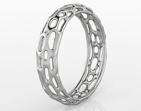 3D printable model Voronoi Ring