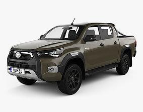 Toyota Hilux Double Cab Invincible 2020 3D
