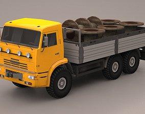 3D model VR / AR ready Truck t